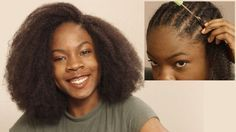 How To Fake Big Natural Hair: Detailed Crochet Tutorial - https://blackhairinformation.com/video-gallery/fake-big-natural-hair-detailed-crochet-tutorial/
