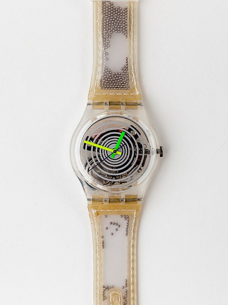 ball swatch watch | Vintage Swatch Spinning Balls Watch