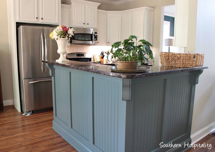 Benjamin Moore White Dove And Knoxville Gray On Cabinets Magnolia Gatherings On Walls White Kitchen Renovation Kitchen Renovation Painting Kitchen Cabinets