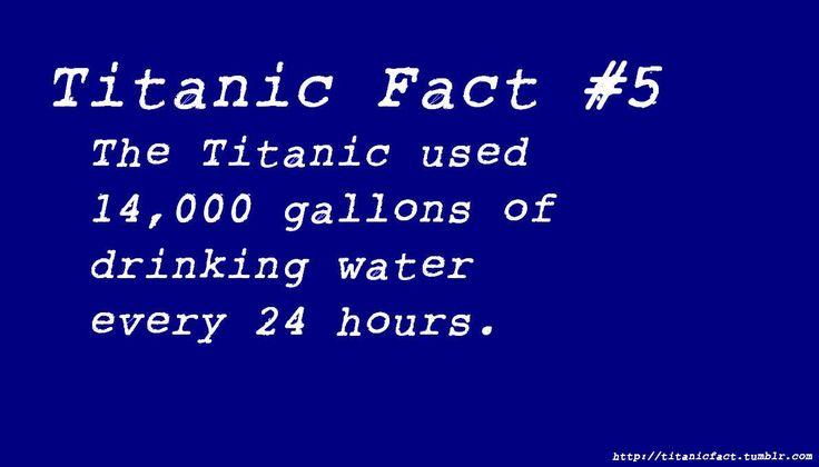 Titanic Fact #5