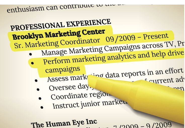 Formatting Tips for Your Resume
