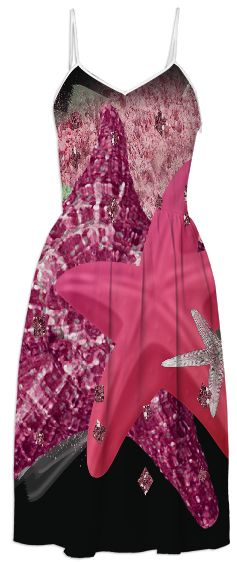 Starfish Sun Dress from Print All Over Me