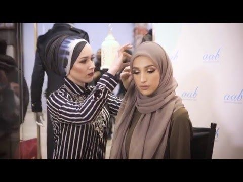 Live Hijab Tutorial and Style Tips with Nabiilabee & LookaMillion - YouTube