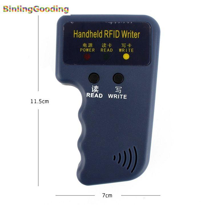 Computadora de mano 125 KHz RFID Copiadora Escritor Lector RFID EM4100 ID Duplicadora Copiadora Precio Al Por Mayor (Sin Regrabable de Tarjetas RFID de La Muestra)