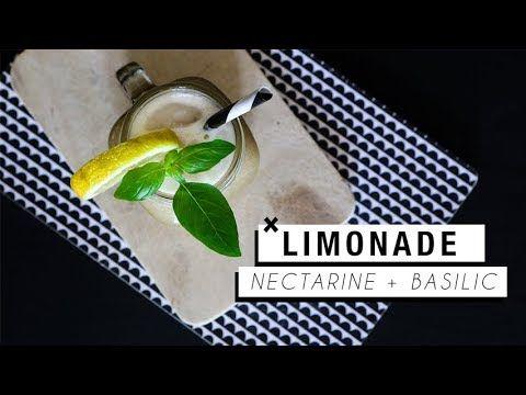 Une petite recette spéciale summer vibes, entre la limonade et le smoothie... À tester de toute urgence avant que les jolies pêches et nectarines ne disparai...