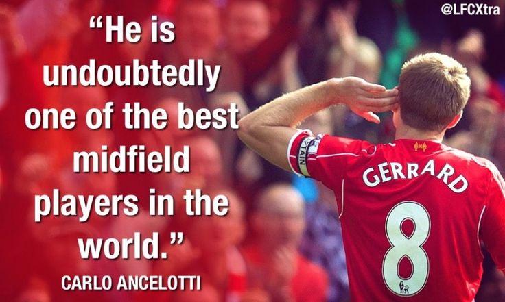 Totti, Ferguson, Suarez, Kaka, Henry, Torres, Owen and Zidane on Steven Gerrard: 26 special tributes - Liverpool FC