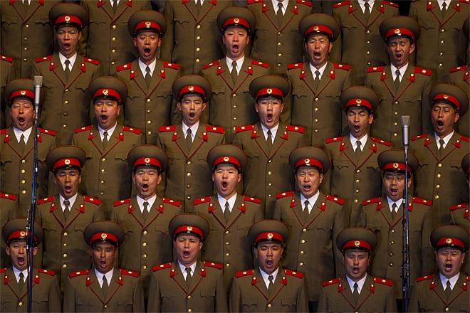 North Korean group prostate exam...: Concerts, Choirs Singing, Kim Il, North Korean, Il Sung, David Guttenfeld, Korean Choirs, Births, Photo