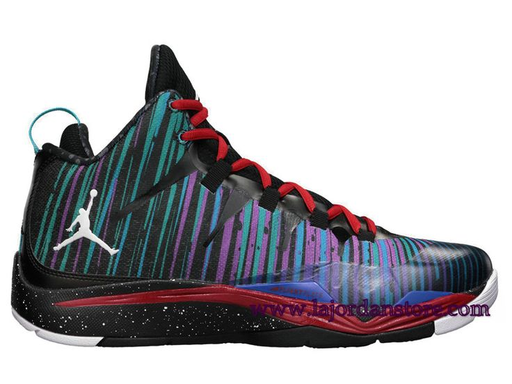 Air Jordan Super Fly 2 Chaussures De Basketball Pour Homme Rouge Bleu Blanc  599945-008