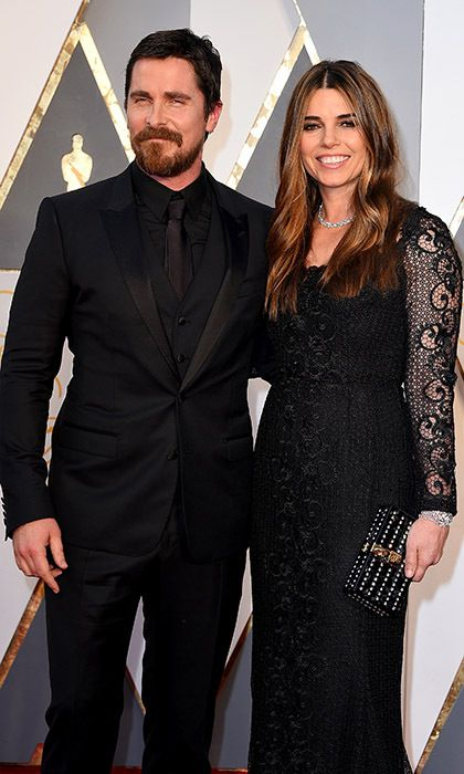 Christian Bale and wife Sibi.
