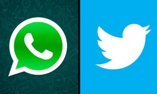 con twitter y whatsapp podemos dar la posibilidad de que nos contacten en cualquier momento.