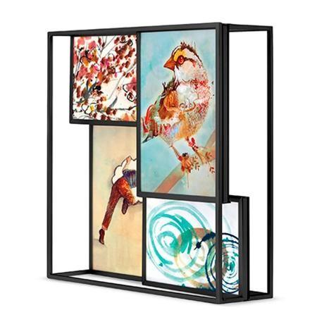 Cuadro Portaretrato 3d Matrix Multi-mesa ¡Nuevo! $ 1290.0