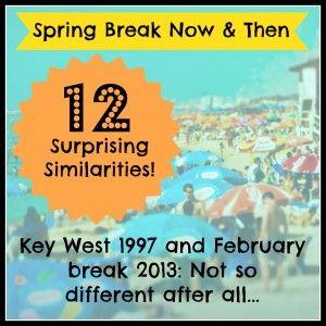 12 Similarities Between College Spring Break and Spring Break with My Kids