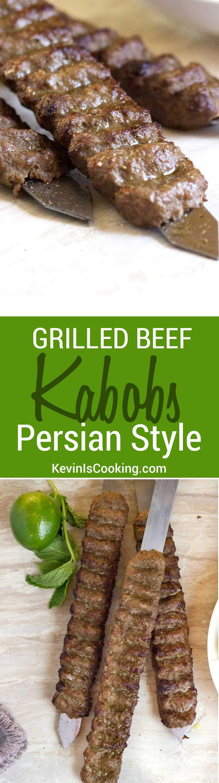 If you love grilled beef kabobs like our family does, these will knock your socks off. The spices and grated onion make this a winner!