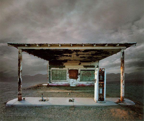 Beautiful gas station