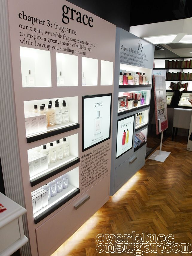 Everbluec | Singapore Beauty makeup and skincare blog: Philosophy first concept store in Asia @ Tangs Orchard