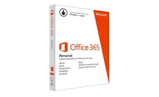 Microsoft Office 365 Personal launched, targets 25 million new users in India