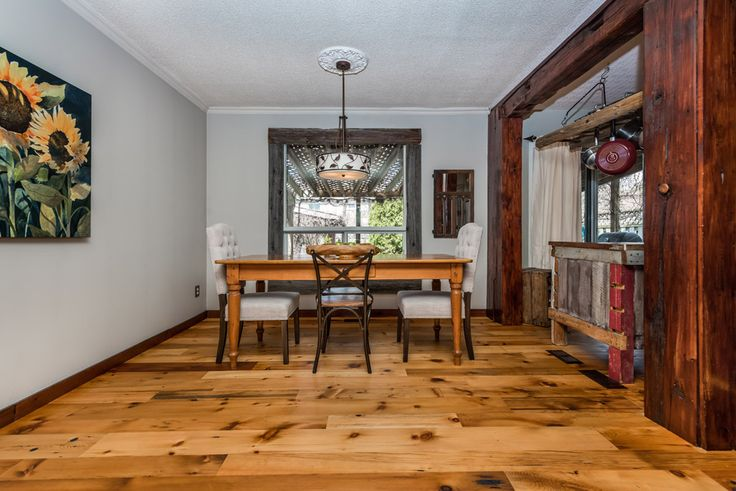 Reclaimed Barn Wood make a beautiful accent | Reclaimed ...