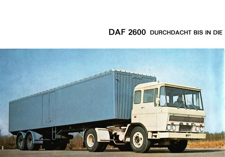 1965 Daf2600 first series