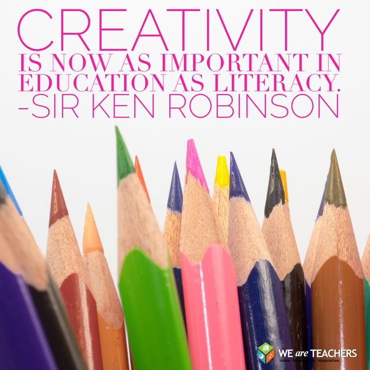 Creativity. LOVE Sir Ken Robinson!! #personalcorner