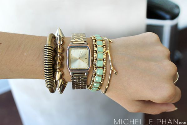 How to Stack Arm Candy - MichellePhan.com – MichellePhan.com