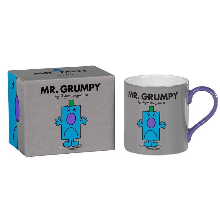Mr Grumpy Mug From Wild and Wolf #mzube #gift #cool #birthday #gifts #quirky #shopping #sale