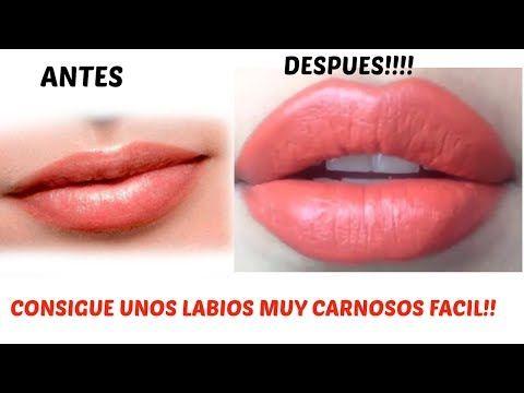 LUCE UNOS LABIOS ESPECTACULARES, GRANDES,GRUESOS Y CARNOSOS SIN INYECCIONES!! TE DIGO COMO HACERLO - YouTube