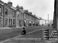 Old housing in Woolwich , London - 17 October 1951<br><br>©TopFoto
