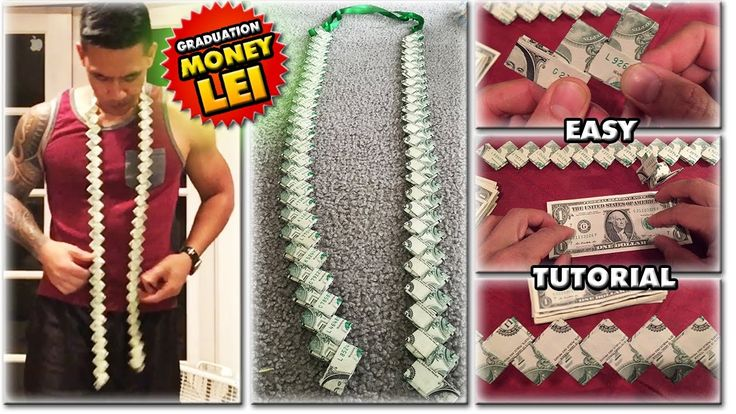 2018 HOW TO MAKE A MONEY LEI | NEW FLAT CHAIN STYL…