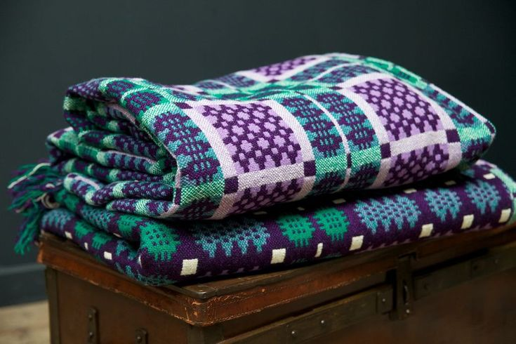 A Pair of Welsh Blankets