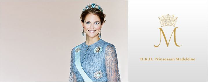 kungahuset.se:  The Swedish Royal Court posted a new photo of Princess Madeleine for the Royal Website, March 2016