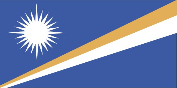Country Flags: Marshall Islands Flag