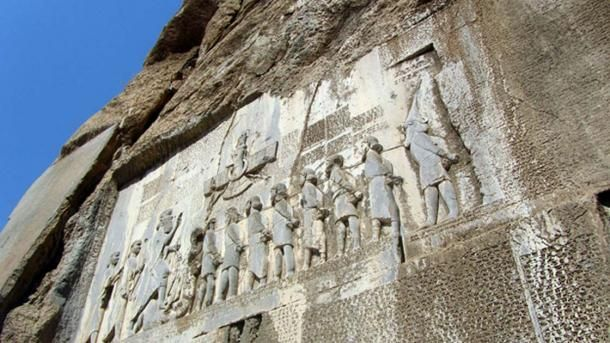 The Behistun Inscription is an engraving located on the cliff of Mount Behistun (said to have had the meaning of 'place where the gods dwell' in antiquity). This inscription was written in three languages, and is accompanied by a large rock relief.