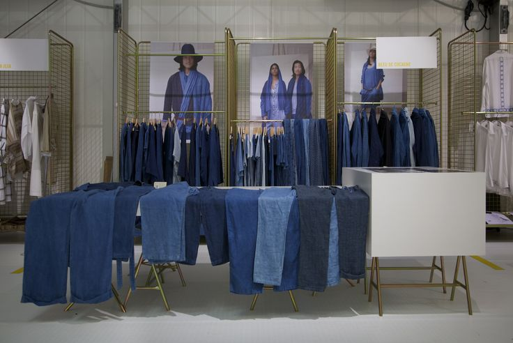 This weekend Bleu de Cocagne was at Pitti Uomo, and we see Blue everywhere!    Here's a picture of our stand at this amazing international fashion trade show.    _    www.bleudecocagne.com  www.pittimmagine.com    #bleudecocagne #woad #natural #blue #handdyed #tradeshow #paris #pittiuomo