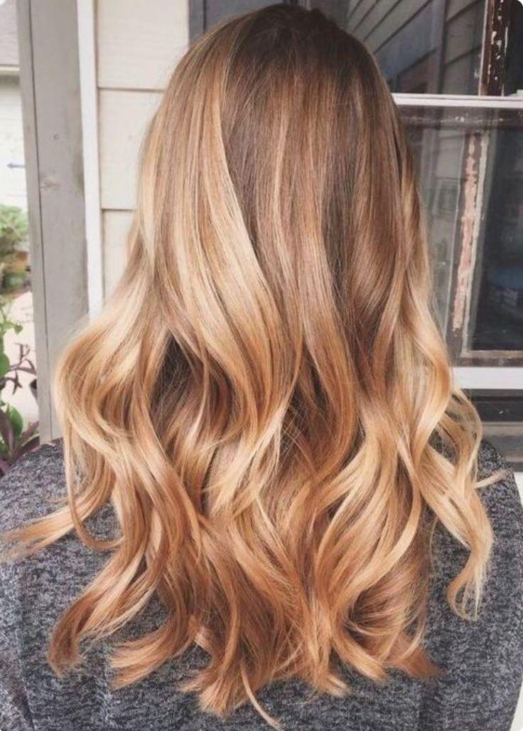 Honey Blonde Hair #honeyblonde #blondehair