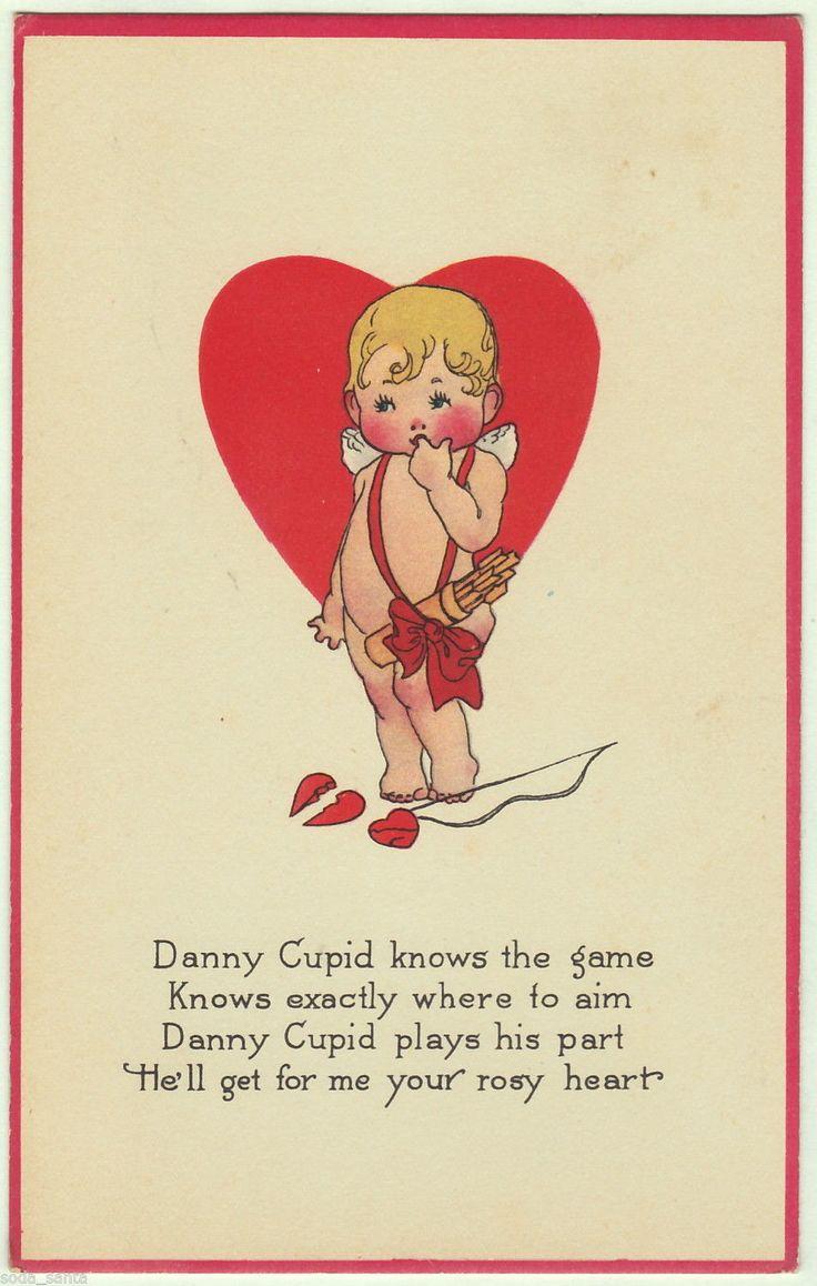 252 best valentines cupid ii vintage images on pinterest vintage