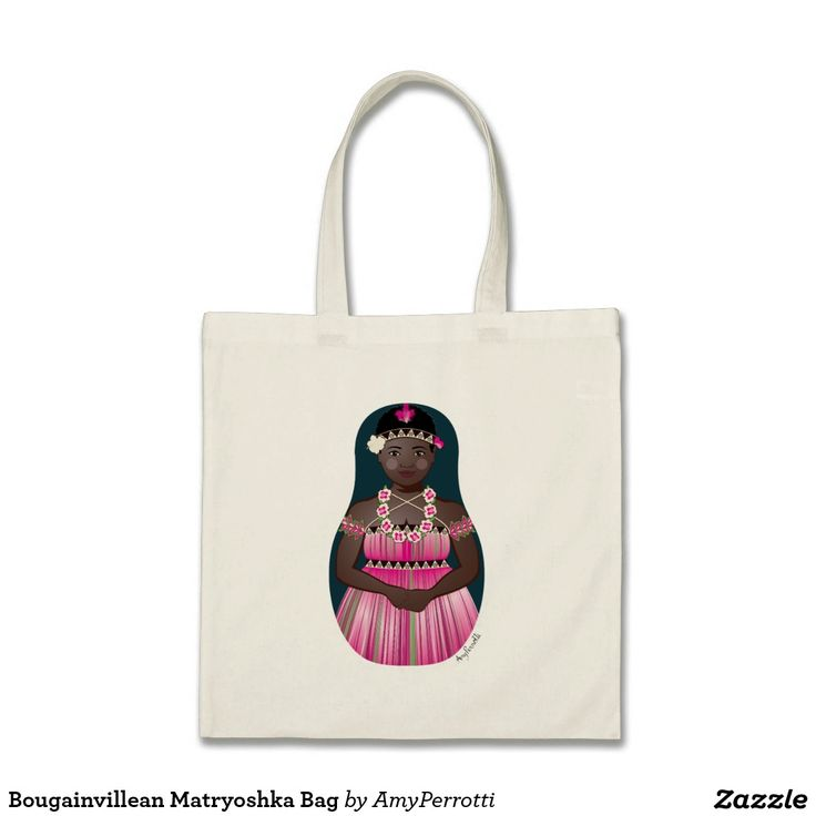 Bougainvillean Matryoshka Bag