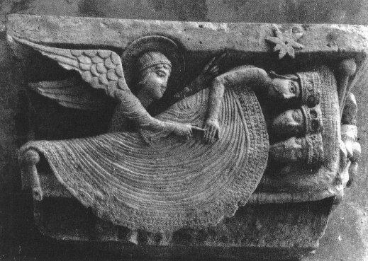 The Magi Sleeping, Autun Cathedral, Autun, France, 12th c.
