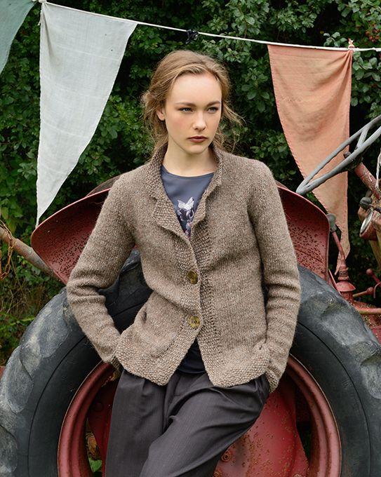 Cyrene Jacket Knitting Kit | Purl Alpaca Designs, Knitting Kits