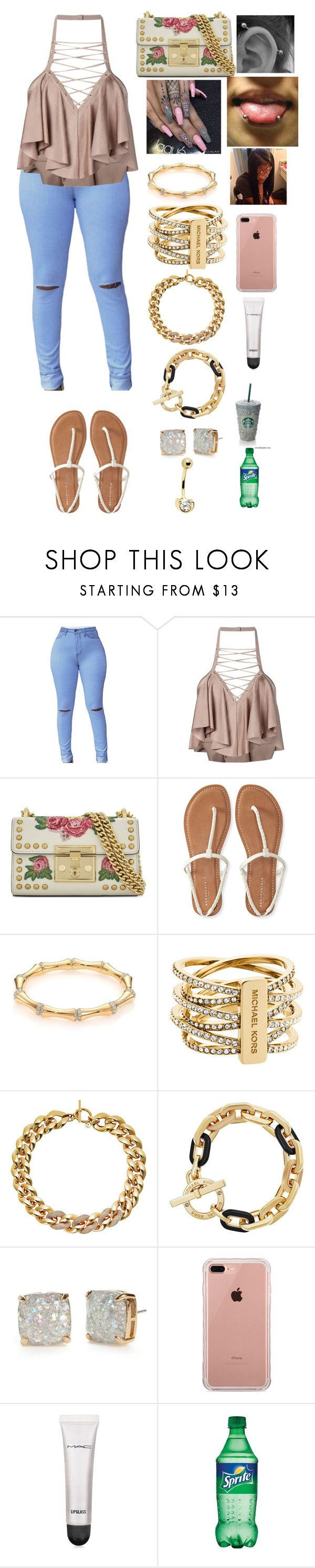 """"" by manija-jones on Polyvore featuring Balmain, Gucci, Aéropostale, Michael Kors, Kate Spade, Belkin and MAC Cosmetics"