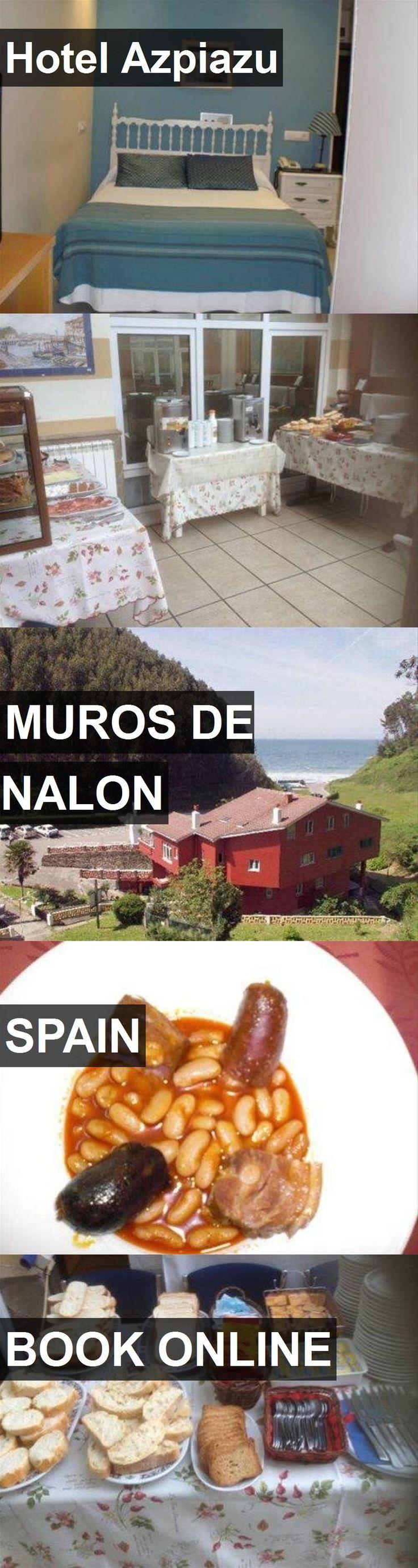 Hotel Azpiazu in Muros de Nalon, Spain. For more information, photos, reviews and best prices please follow the link. #Spain #MurosdeNalon #travel #vacation #hotel