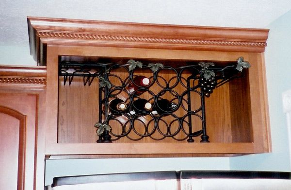 Wine Rack Inserts For Kitchen Cabinets