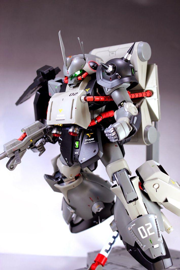 GUNDAM GUY: MG 1/100 Marasai - Customized Build