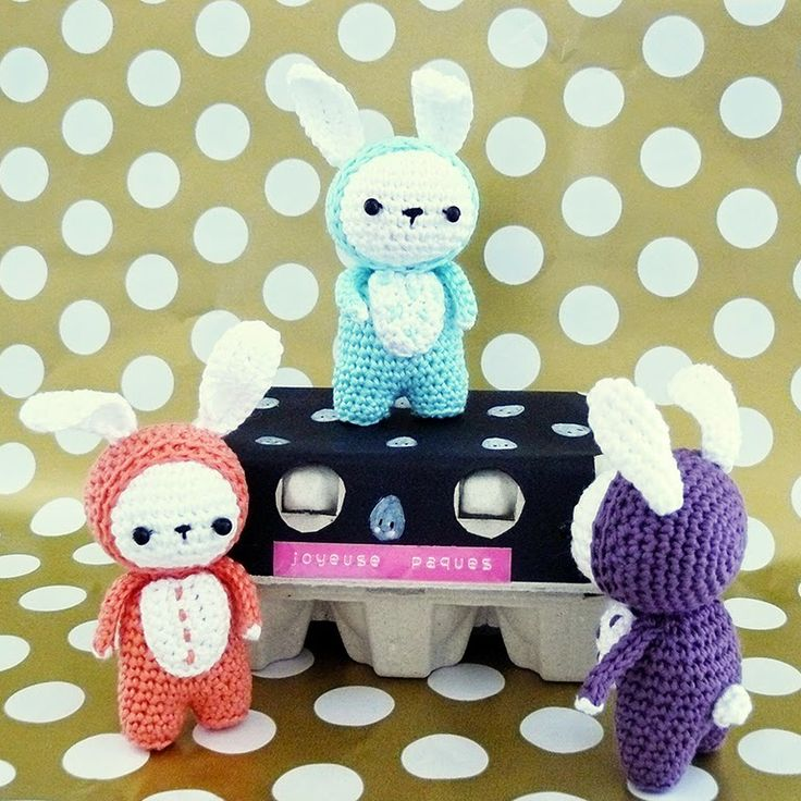 Amigurumi Bunnies - FREE Crochet Pattern / Tutorial