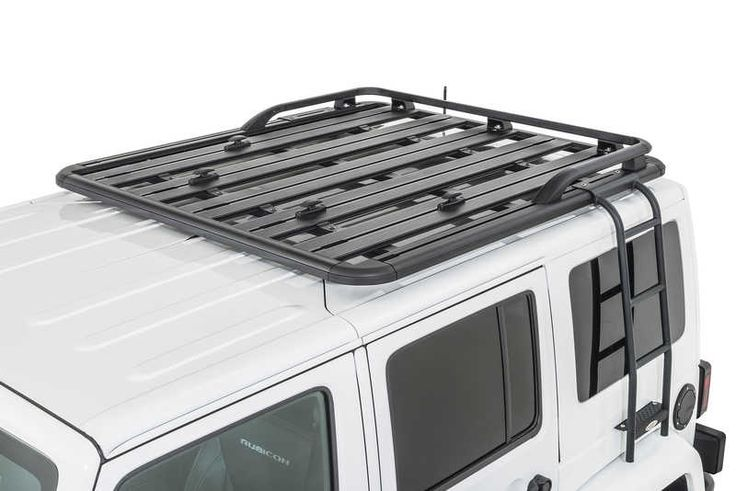 Maximus 3 0300 006pbr 60b Rear Platform Rail Kit For 07 17 Jeep Wrangler Jk With Maximus 3 Pioneer Roof Rack Quadrat Jeep Wrangler Jeep Wrangler Jk Roof Rack