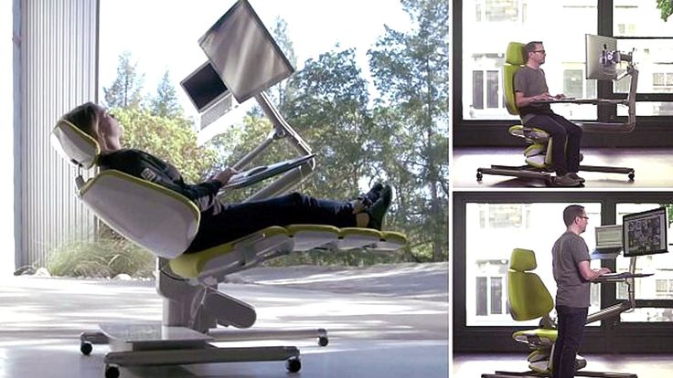 This Desk Lets You Lie Down on the Job