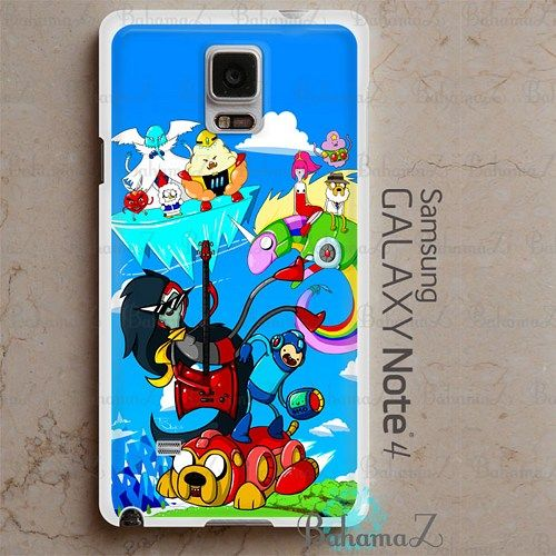 MEGAMAN TIME Samsung Galaxy Note 4 Case