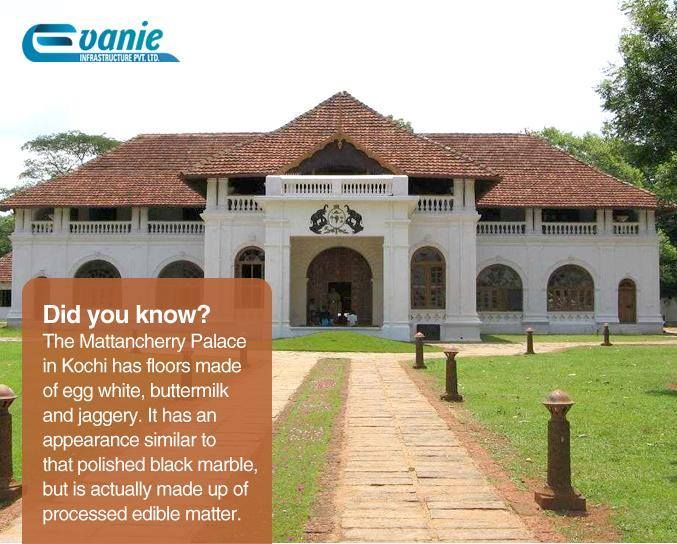 Did you know? The Mattancherry Palace in Kochi has floors