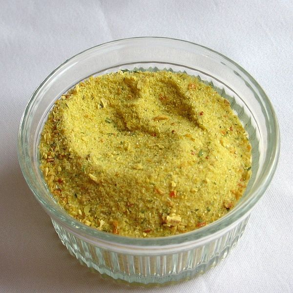 This is a recipe for a homemade MSG-free version of Vegeta Gourmet Seasoning so popular in Eastern European recipes that is safe for sensitives.