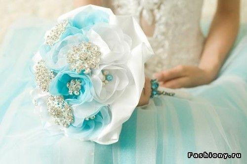 Необычные свадебные букеты для невесты / букет невесты из полимерной глины