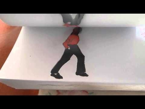 Michael Jackson Flipbook Animation- This is absolutely PERFECT!